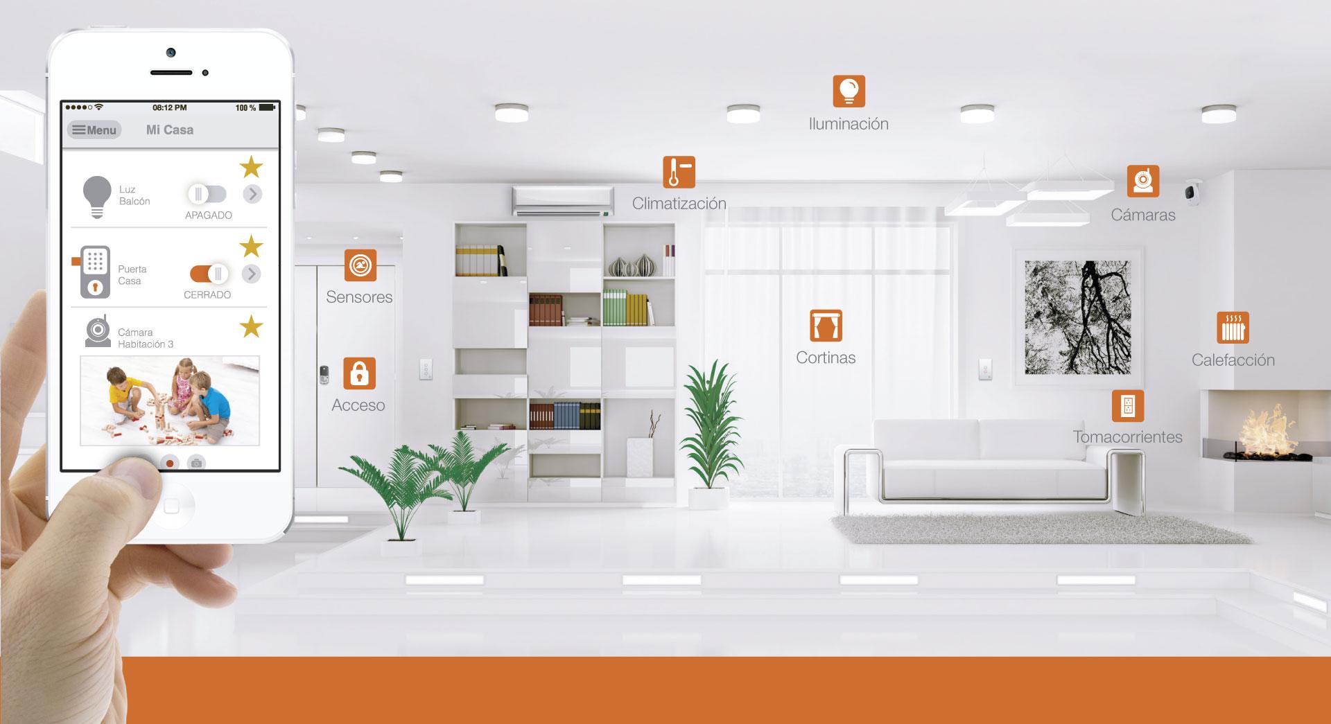 Dispositivos para hacer una casa inteligente – Horus Smart Control